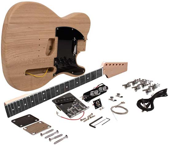 Seismic Audio DIY Guitar Kit