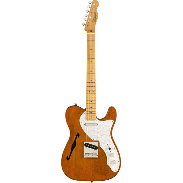 Squier Classic Vibe '60s Telecaster Thinline Semi-Hollow Electric Guitar (Budget Pick)