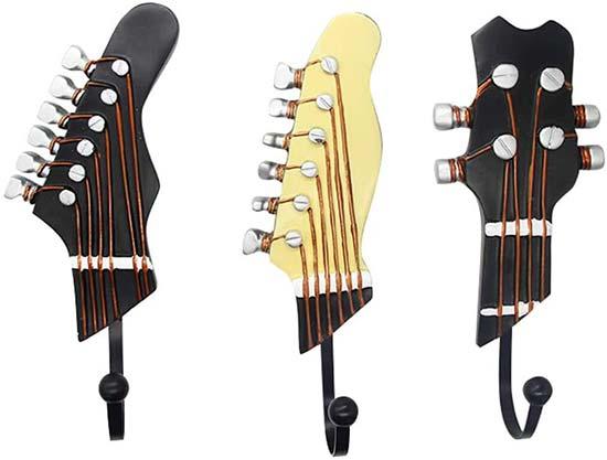 Vintage Guitar-Shaped Hook