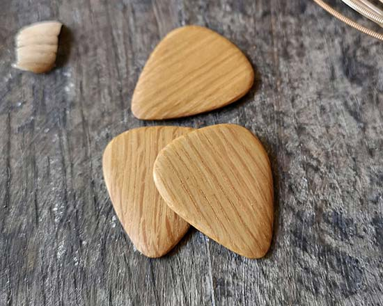 Whiskey Wood Craft Guitar Pick Set