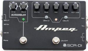 Ampeg SCR-DI - Bass Preamp with Scrambler Overdrive