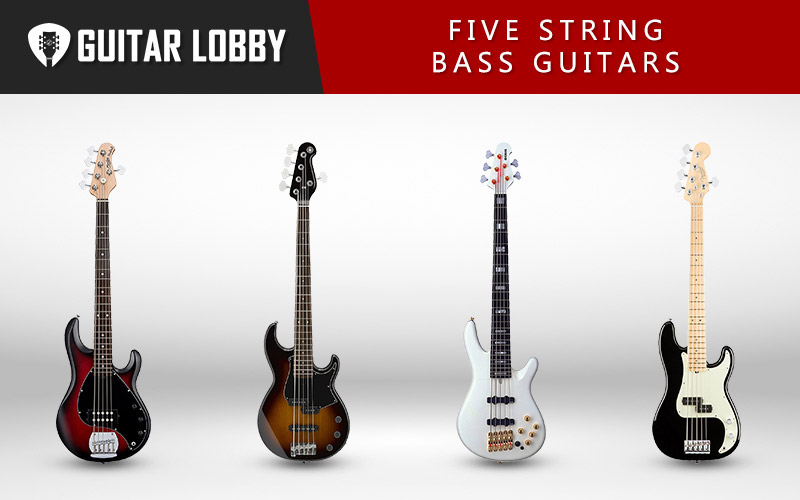 Best Five String Bass Guitars (Featured Image)