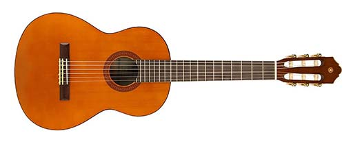 Classical Guitar Size Example