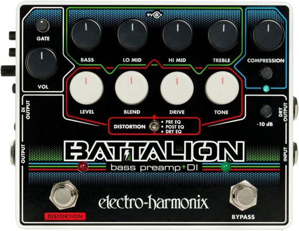 Electro-Harmonix Battalion Bass Preamp