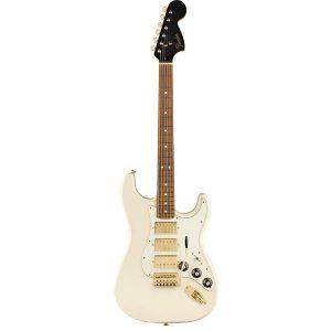 FSR Mahogany Blacktop Stratocaster HHH