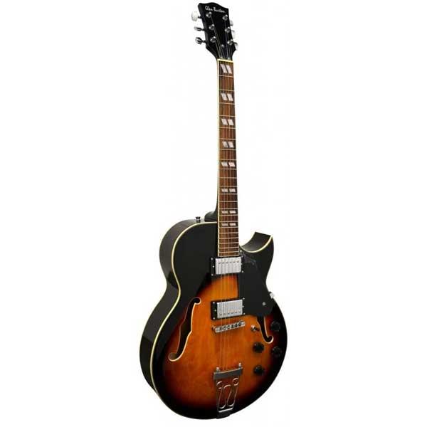 "Glen Burton GE775-CHIC-TS ""Chicago"" Hollowbody Electric Guitar"