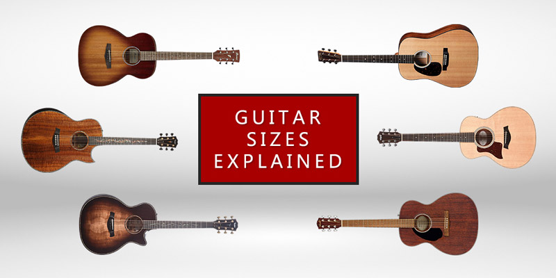 Guitar Sizes Explained (Featured Image)