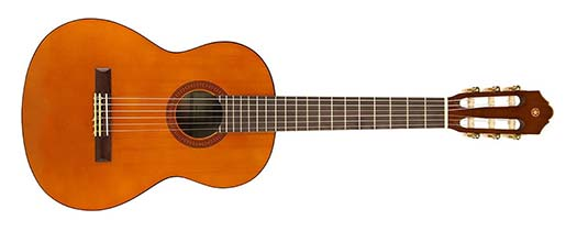 Half Size Guitar Example
