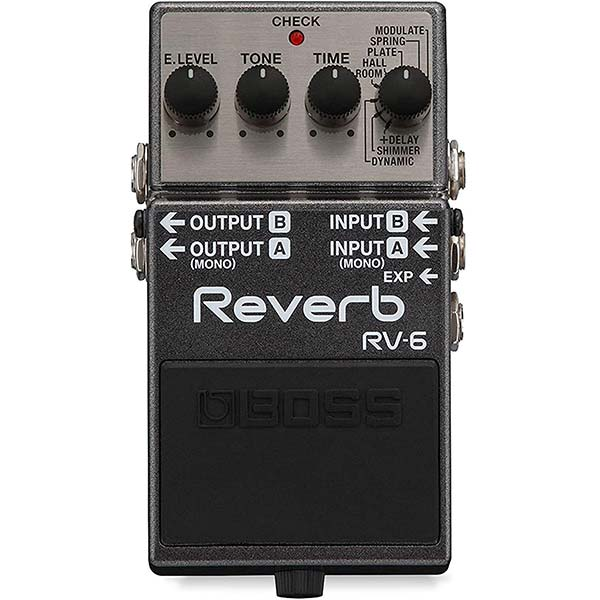 Reverb Pedal Example