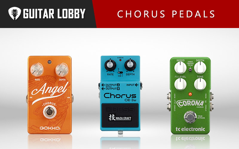 Some of the Best Chorus Pedals