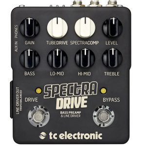 TC Electronic SpectraDrive Bass Preamp
