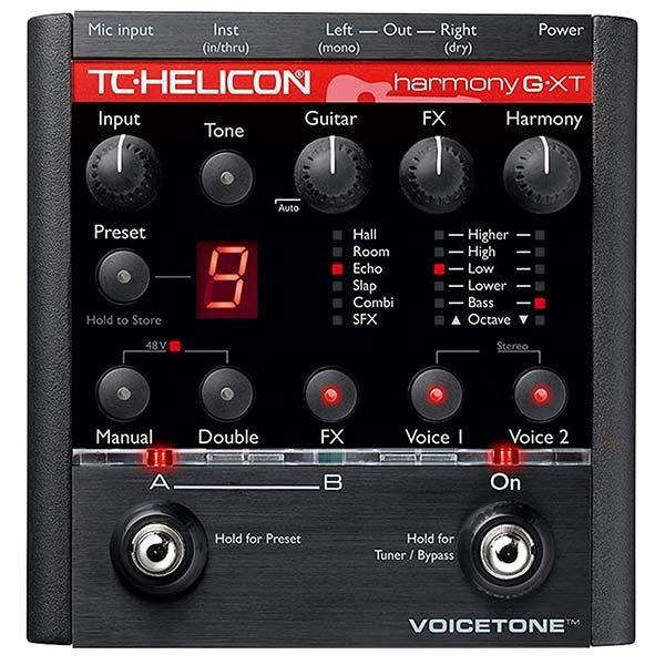 TC Helicon VoiceTone Harmony G XT