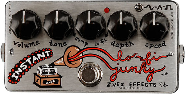 ZVEX Effects Instant Lo-Fi Junky Vexter