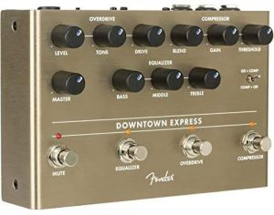 Fender Downtown Express Multi-Effects Pedal