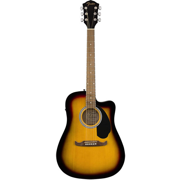 Fender FA-125CE Dreadnought Cutaway Acoustic-Electric Guitar