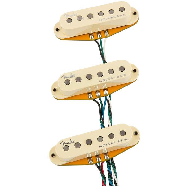 Fender Generation 4 Noiseless Stratocaster Pickup Set