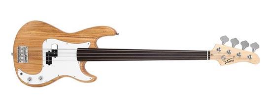 Fretless Bass Guitar Example