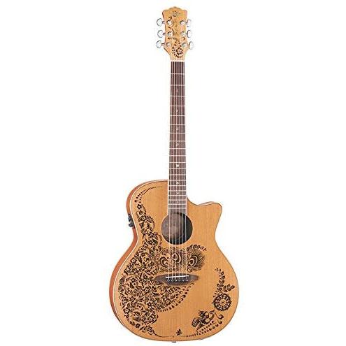 Luna Guitars Henna Oasis Acoustic-Electric Guitar