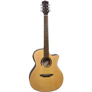 Luna Guitars Wabi Sabi Grand Concert Acoustic-Electric Guitar