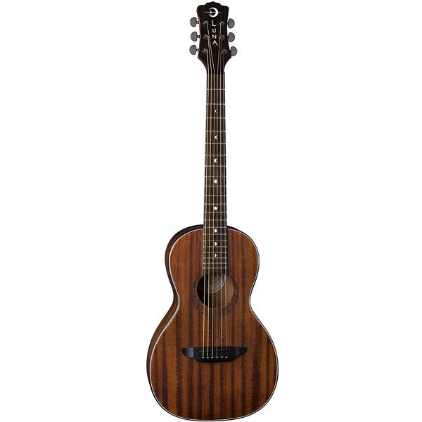 Luna Gypsy Muse Parlor Acoustic Guitar