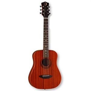 Luna Safari Series Muse Mahogany 3/4-Size Travel Acoustic Guitar