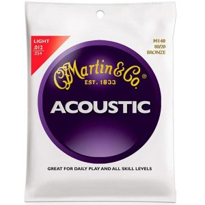 Martin M140 Acoustic Guitar Strings