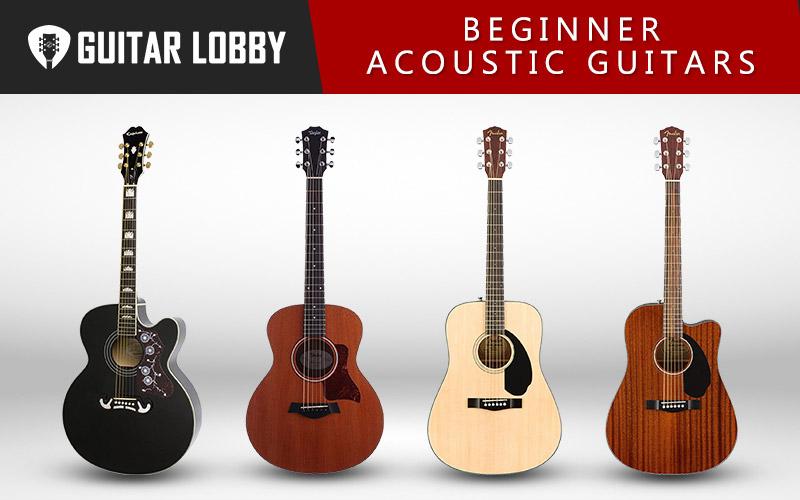 Best Beginner Acoustic Guitars (Featured Image)