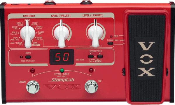 VOX Stomplab 2B Bass Effects Processor