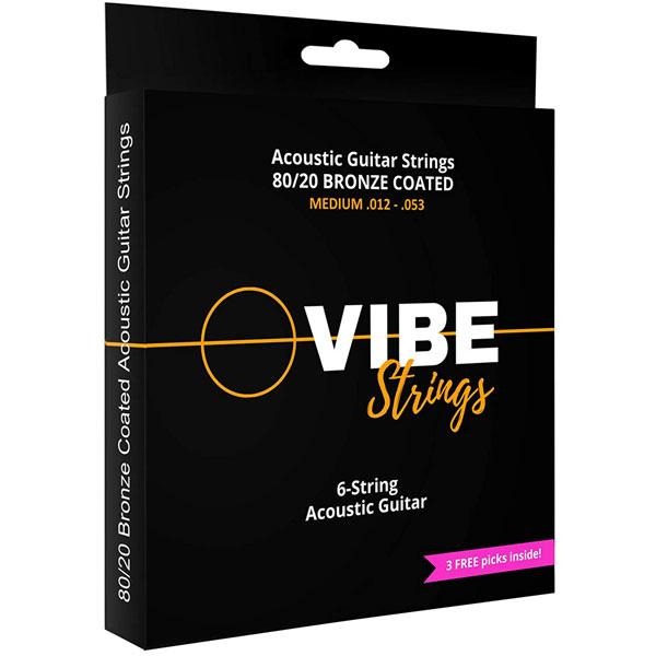 Vibe Strings Acoustic Guitar String Set