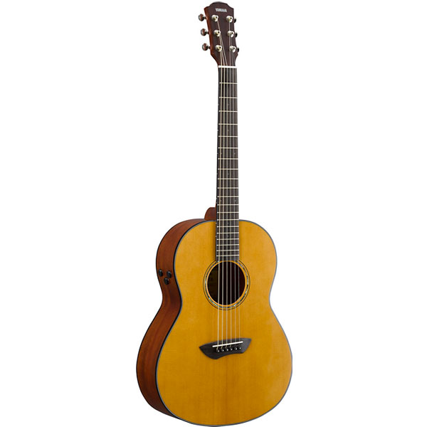 Yamaha CSF-TA Electro-Acoustic Parlor Guitar With Transacoustic Technology