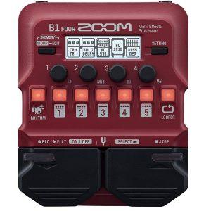 Zoom B1XFour Bass Multi-Effects Processor