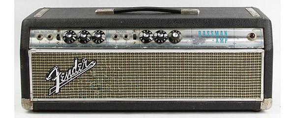 Fender Bassman Head Billie Joe Armstrong