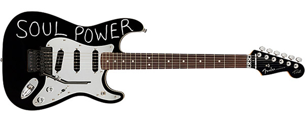 Fender Stratocaster Soul Power Guitar Tom Morello