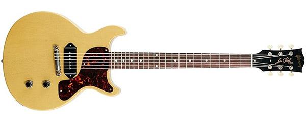 Gibson Les Paul Jr Doublecut TV Yellow Billie Joe Armstrong
