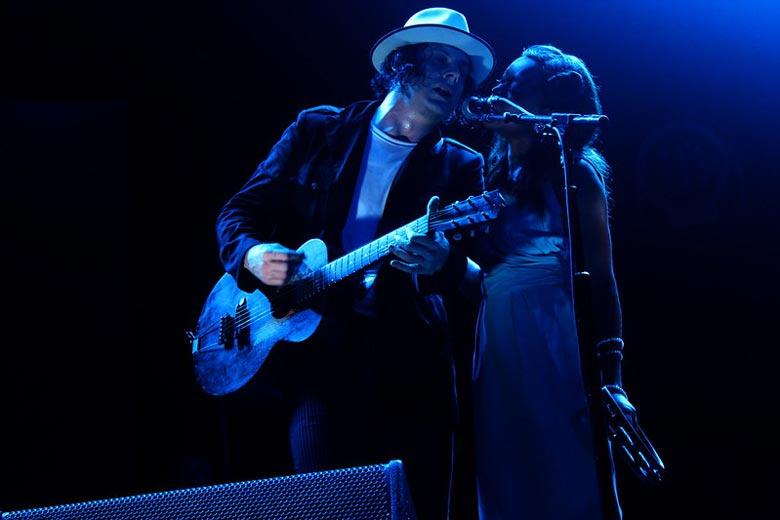 Jack White Playing Guitar