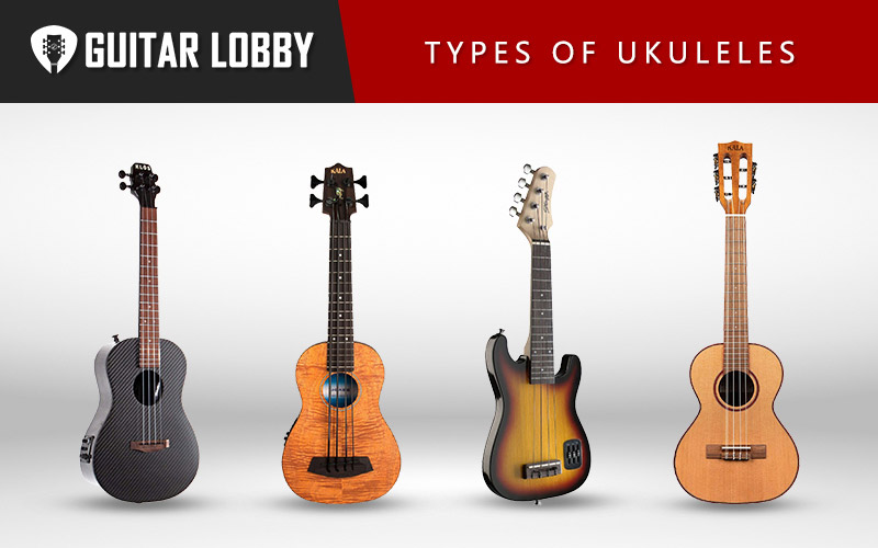 Different Types of Ukuleles (Featured Image)