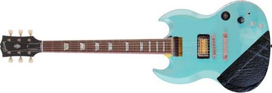 Gibson SG Blue 1970s