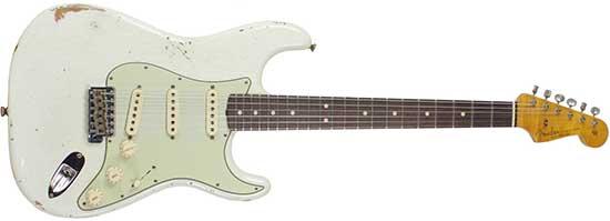 Jimi Hendrix 1964 White Fender Stratocaster (Carol/Linda)