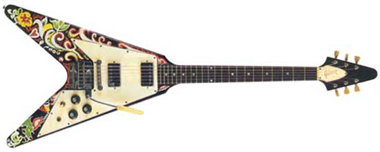 1967 Hand-painted Gibson Flying V