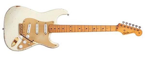David Gilmour 1954 Fender Stratocaster The White Strat