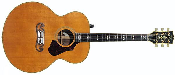 David Gilmour Gibson J-200 Celebrity