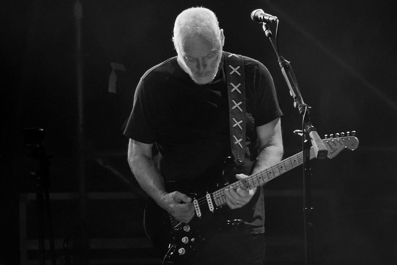 David Gilmour Guitars and Gear (Featured Image)