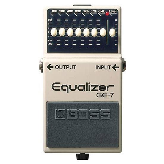 Example of a EQ Equalizer Guitar Pedal