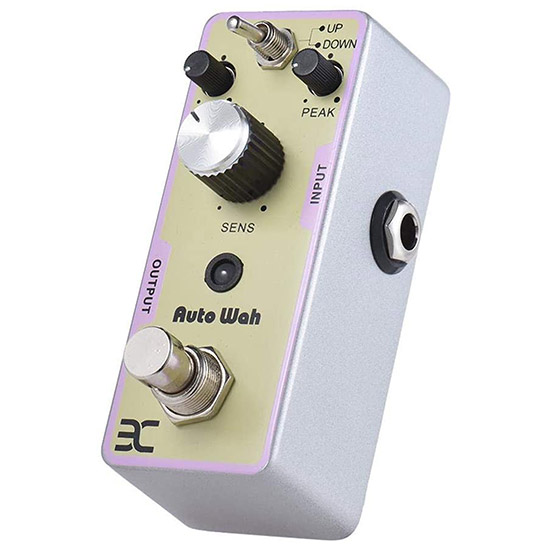 Example of a Envelope Filter Auto Wah Guitar Pedal