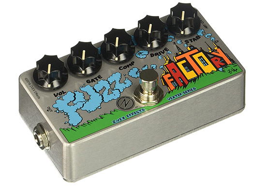 Example of a Fuzz Guitar Pedal