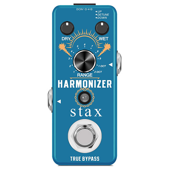 Example of a Harmonizer Guitar Pedal