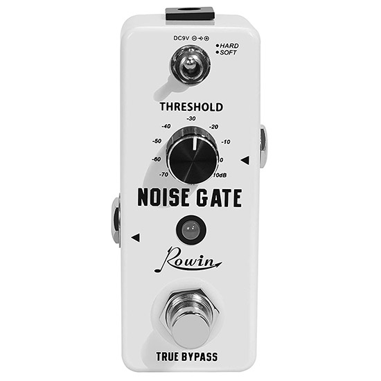 Example of a Noise Gate Guitar Pedal