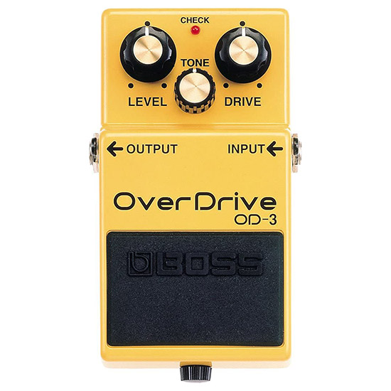 Example of a Overdrive Guitar Pedal
