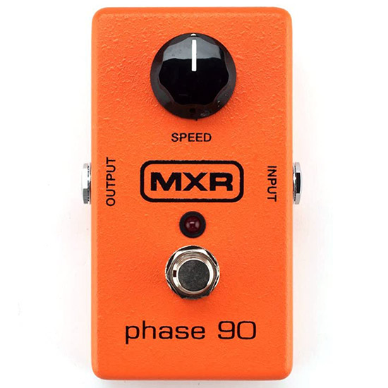 Example of a Phaser Guitar Pedal