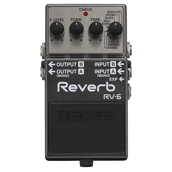 Example of a Reverb Guitar Pedal